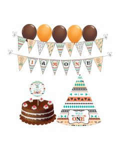 Wild One Birthday Decorations for Boys