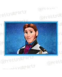 Frozen personalized Placemats Hans