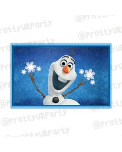 Frozen personalized Placemats Olaf
