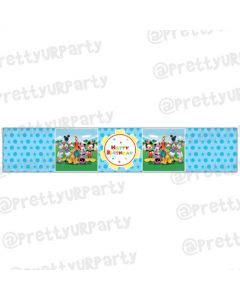 Mickey Mouse Clubhouse Inspired Wrist Bands