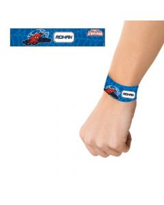 Spiderman wrist bands