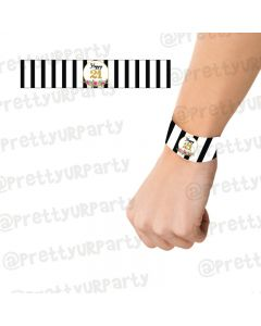 21st Birthday Theme Wrist Bands
