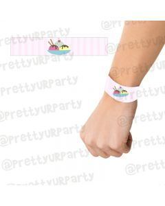 Ice Cream Theme Wrist Bands