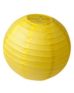 Yellow Round Paper Lamps