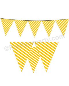 Yellow Stripes Bunting