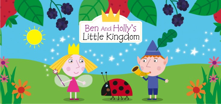 ben and holly s little kingdom theme party ben and holly s little