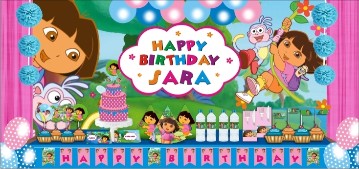 Dora the Explorer Party Theme Dora the Explorer Birthday Party