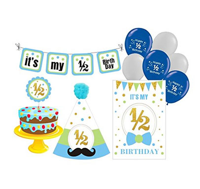 Half Birthday Decoration Package